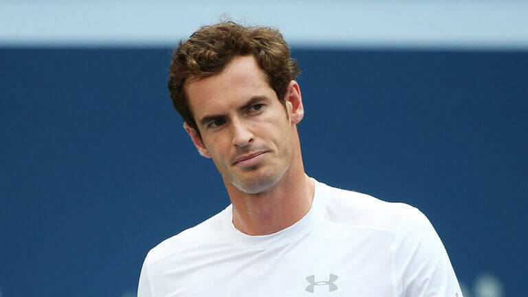 Image of Andy Murray at the US Open