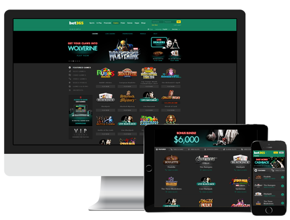 Bet 365 Casino Review UK