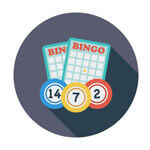 Image of Bingo cards at Online casinos