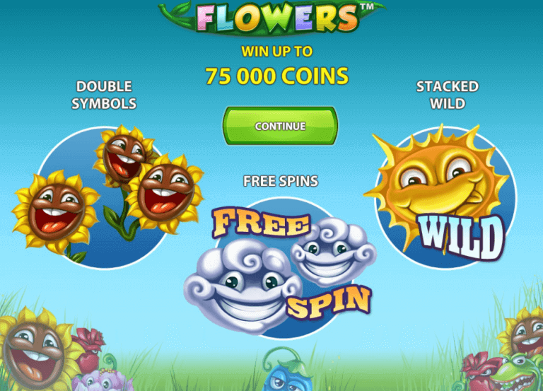 Play Flowers Slots Online at Casino.com UK