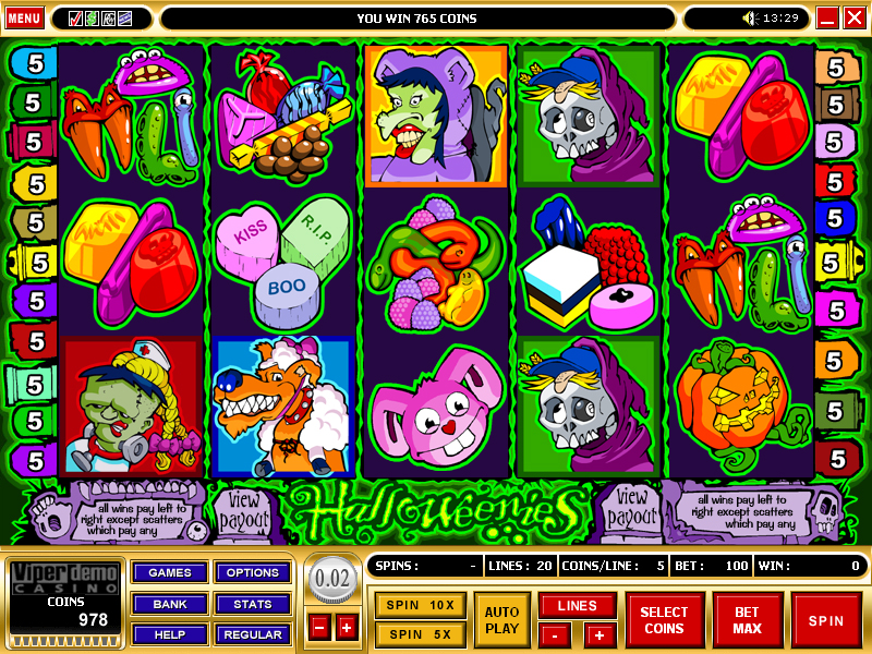 Halloweenies online slot | Euro Palace Casino Blog