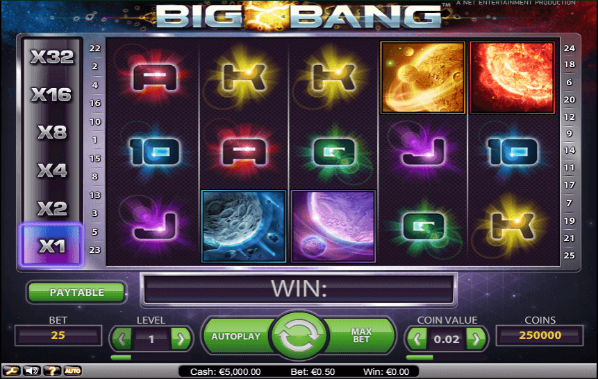 Play Big Bang Slots Online at Casino.com UK