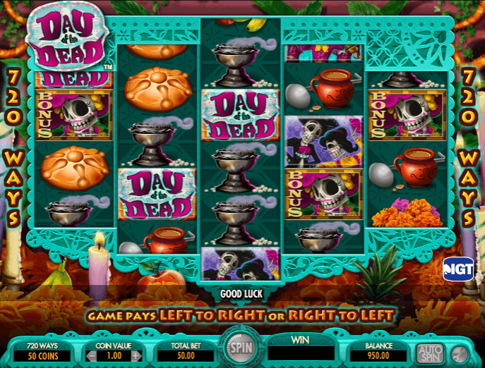 Image of Day if The Dead Online Slot 2