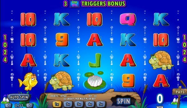 Image of Frogs N Flies Online Slot