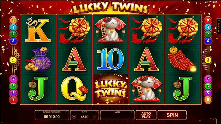 Image of Lucky Twins Online Slot Wild
