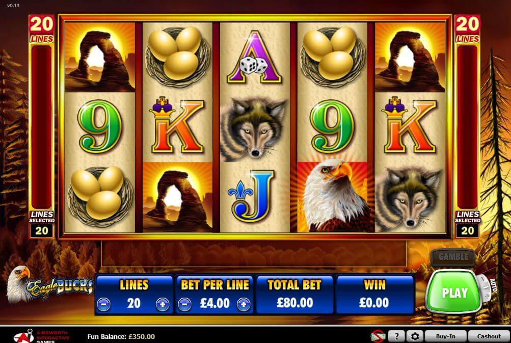 The Game of Chronos Eagle Slots - Play Online for Free