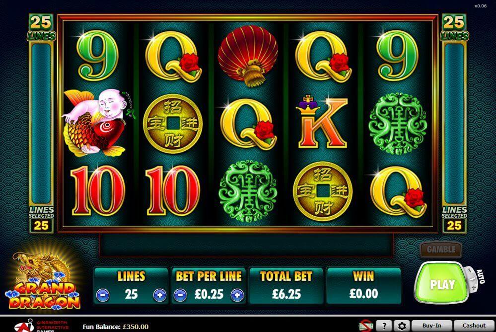 grand dragon casino online