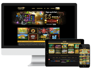 Image of Jackpot Mobile Casino on Multiplatform interfaces