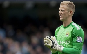 Image of Joe Hart MAnchester City Goalie