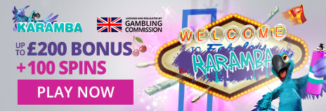 Image of Karamba Casino Bonus and free spin offer