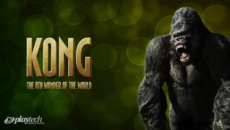 Image of King Kong Online Slot PlayTech logo