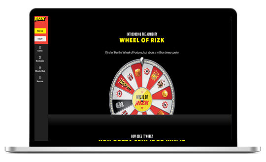 Rizk Casino is a Fully Licensed UK Online Casino