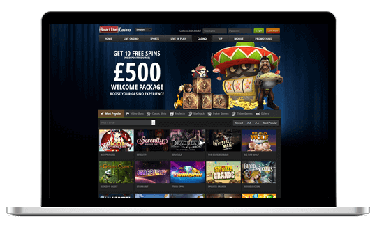 live casino smart gaming welcome