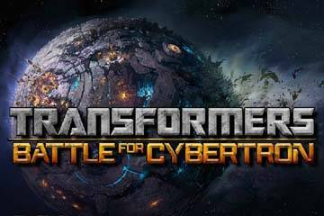 Image of Transformers Battle for Cybertron Online Slot logo
