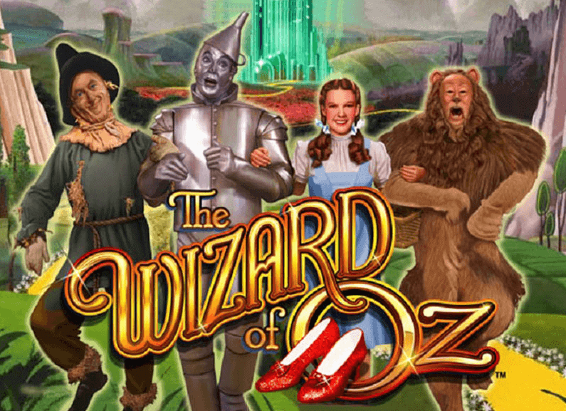 Image of Wizard of Oz Online slot Logo