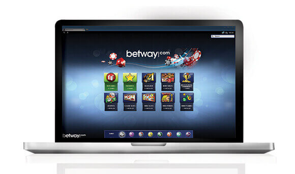 Betway laptop platform