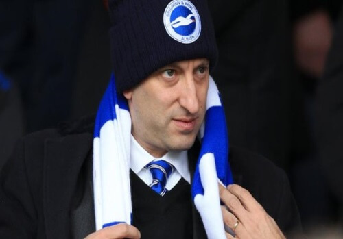 Brighton chairman Tony Bloom