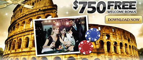 Online casino colosseum casino play today with $750 free reel em in casino game online