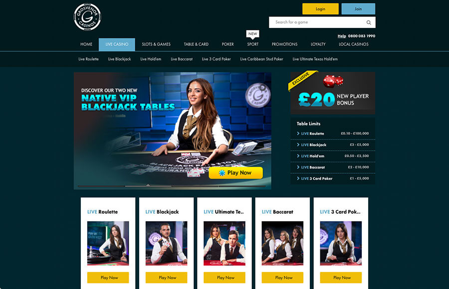 grosvenor casino online reviews