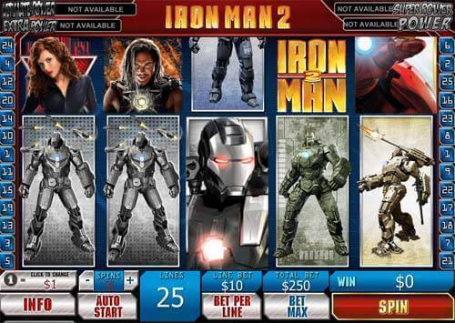 Image of Iron man 2 in play
