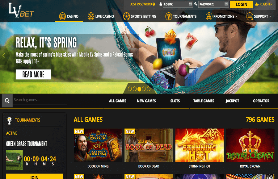 LVBet Casino Review