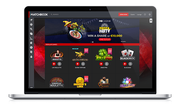 Matchbook Casino Website