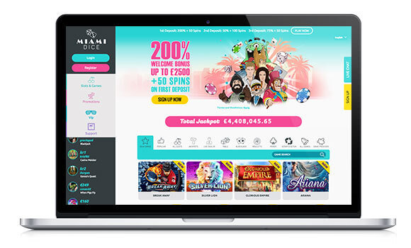 Miami Dice Casino Review – Expert Ratings and User Reviews