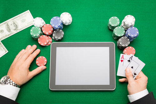 Image of online casino games