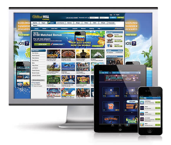online william hill casino bose gaming